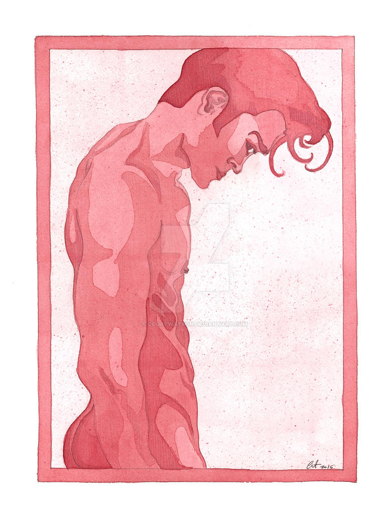 Red Torso by CourtWatson
