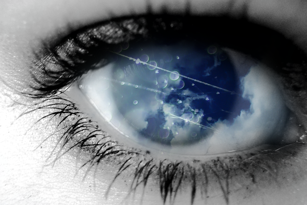 The eye of a dreamer.