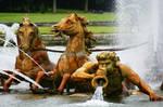 The Apollo fountain by Heurchon