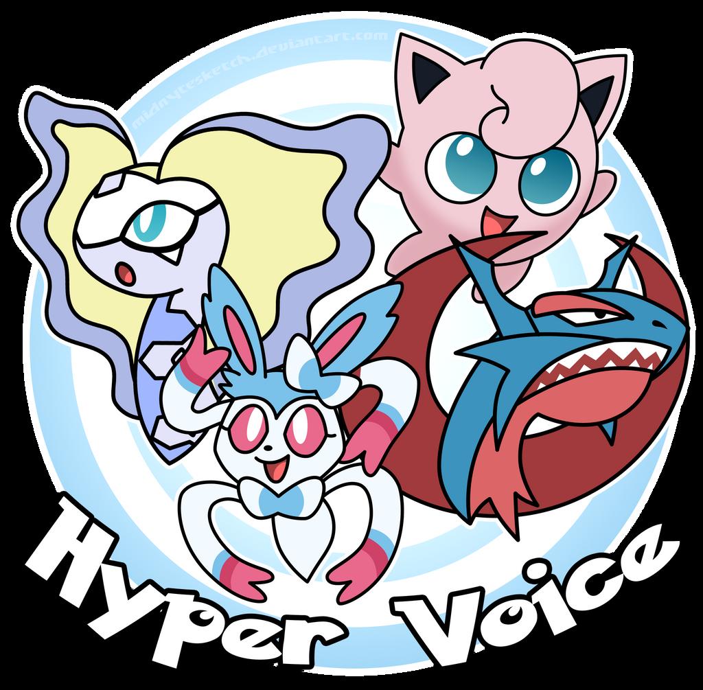 Sylveon learn hyper voice