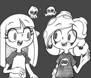 Sketch - Middy and June
