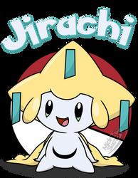 Jirachi shirt design remake