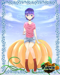 [FAN ART] Pumpkin online by SunClare