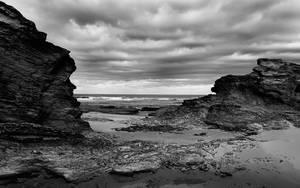 Black Rocks by Vraxor22