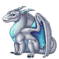 Commission - Polishedscales pixel doll 1/2 by GroxikavonDarkside