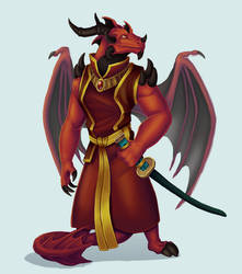 Commission - Reignited Varathael/ Blaze