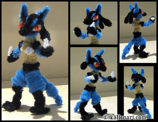 Lucario by kalicothekat