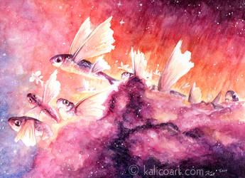 Nebula by kalicothekat