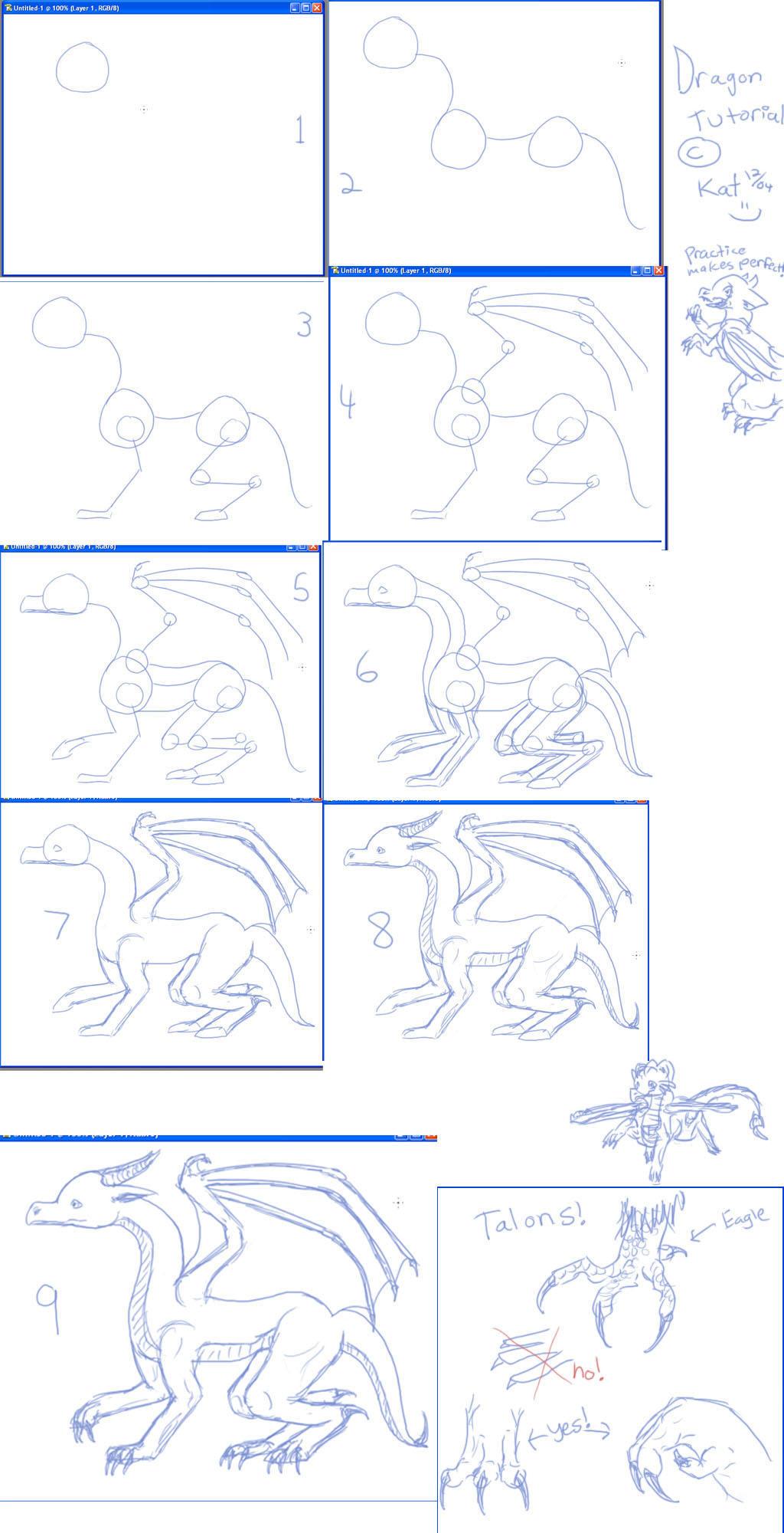 Aprende a dibujar dragones!
