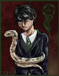 Tom Riddle by kalicothekat