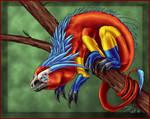 Scarlet Hexadragon