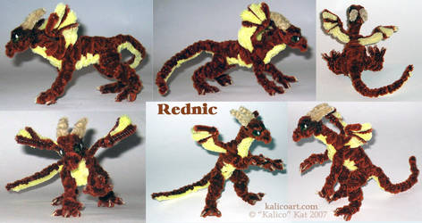 Rednic -- Pipe Cleaners by kalicothekat
