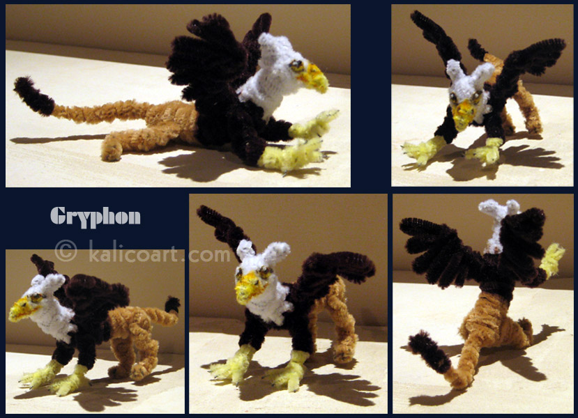 Gryphon -- Pipe Cleaners by kalicothekat