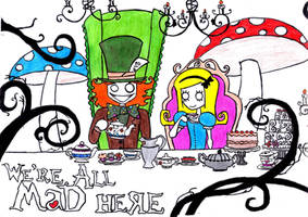 Mad tea party by Evan-AdventureTimer