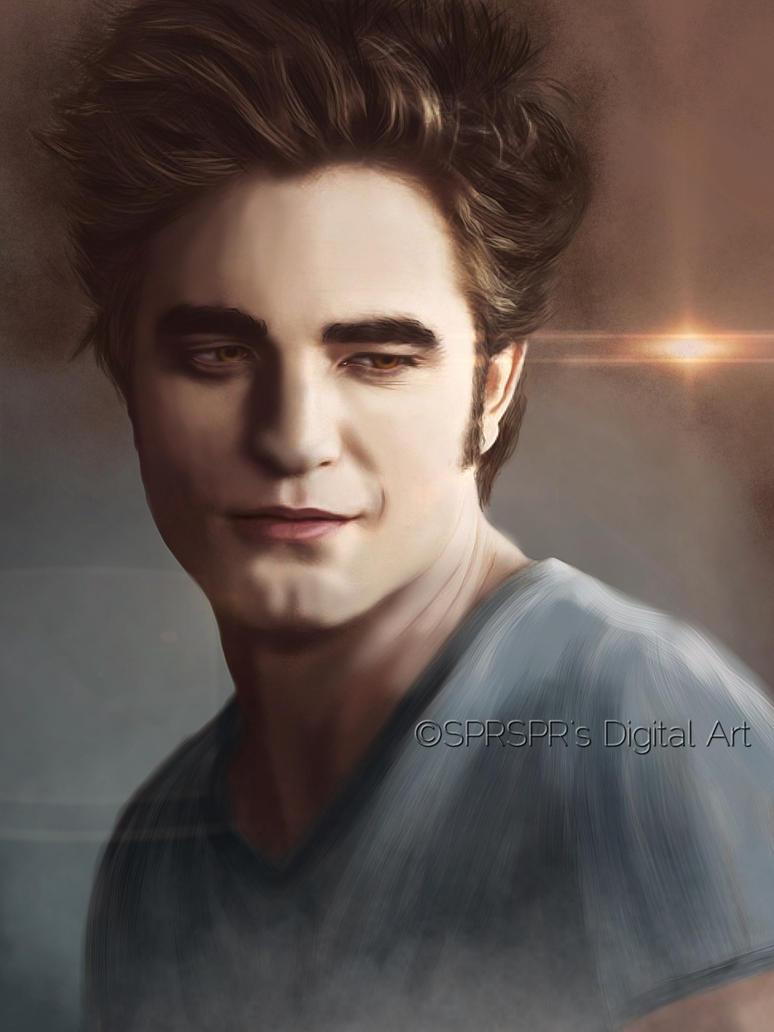 Edward Cullen By Sprsprsdigitalart On Deviantart