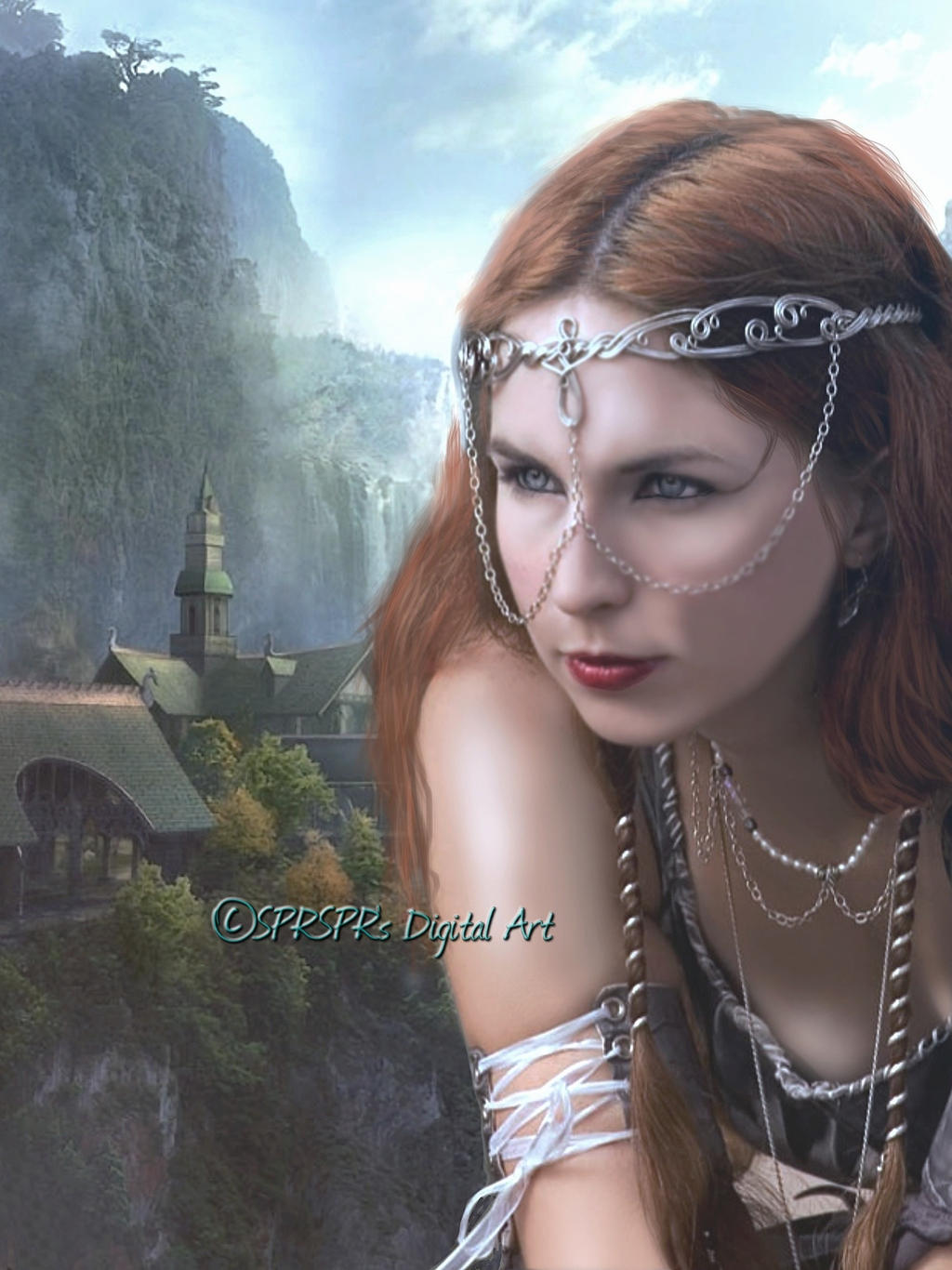 My home ~ Rivendell by SPRSPRsDigitalArt