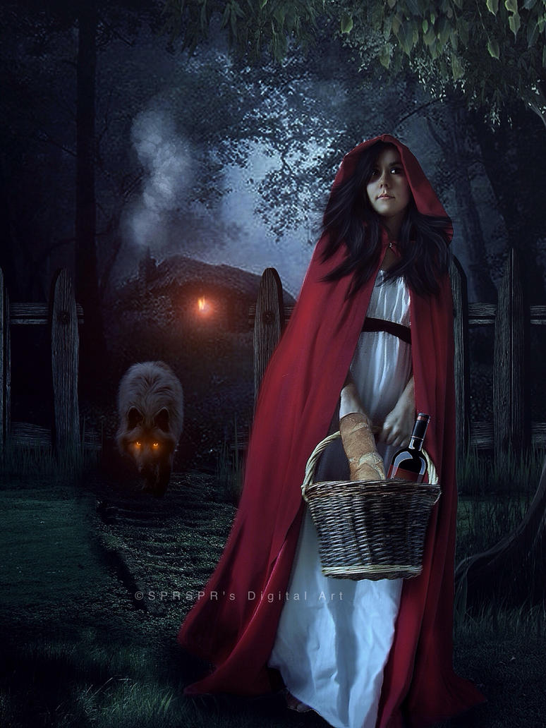 red riding hood by sprsprsdigitalart on deviantart