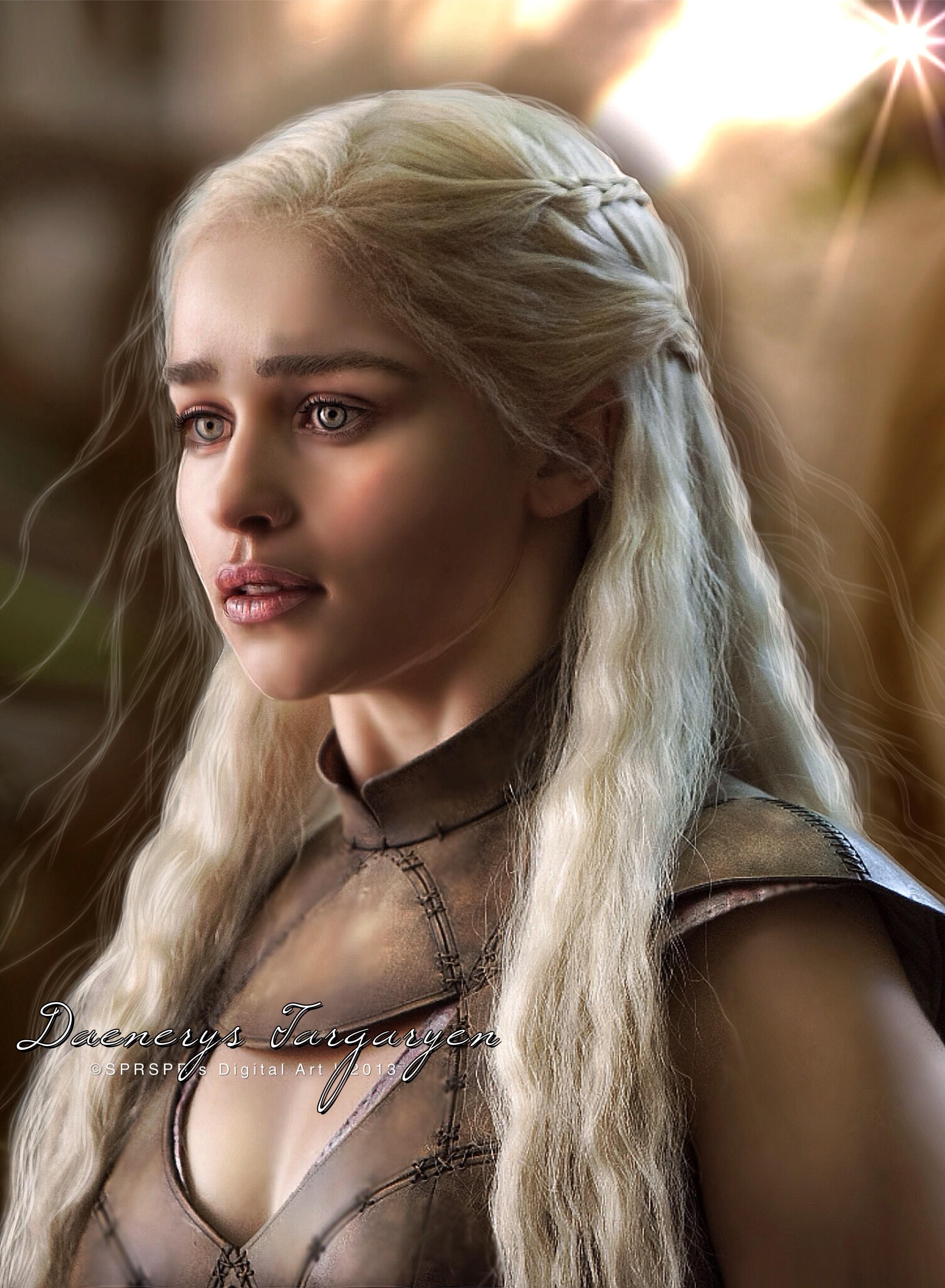 Daenerys Targaryen by SPRSPRsDigitalArt