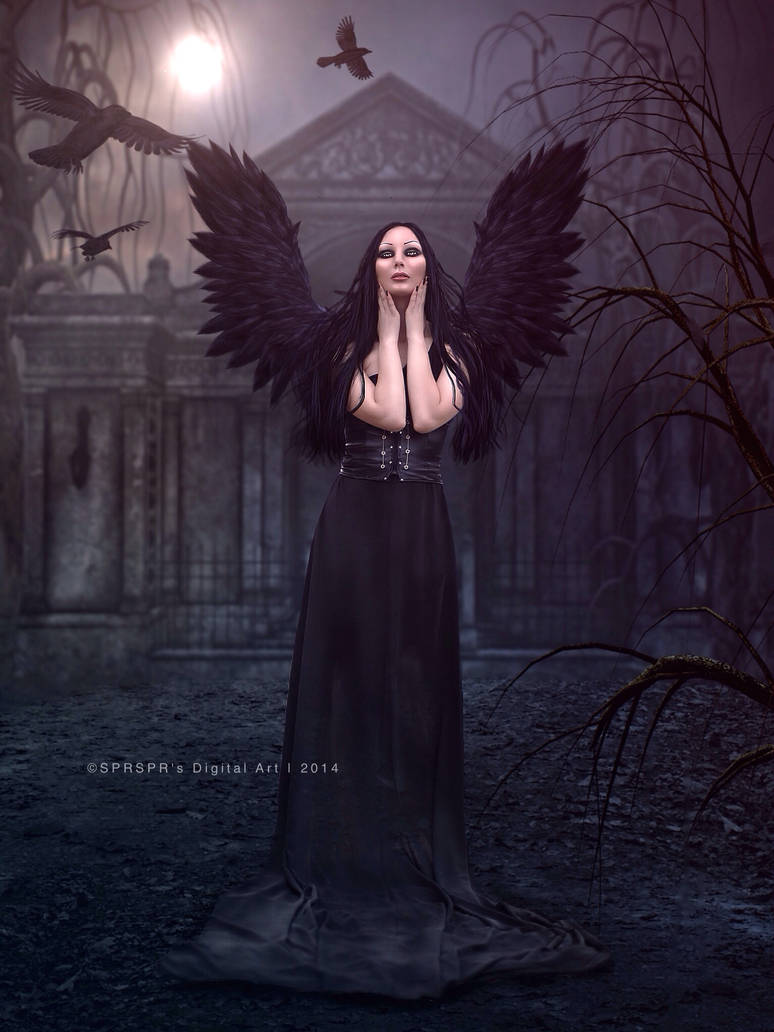 Raven Queen by SYLVIAsArt