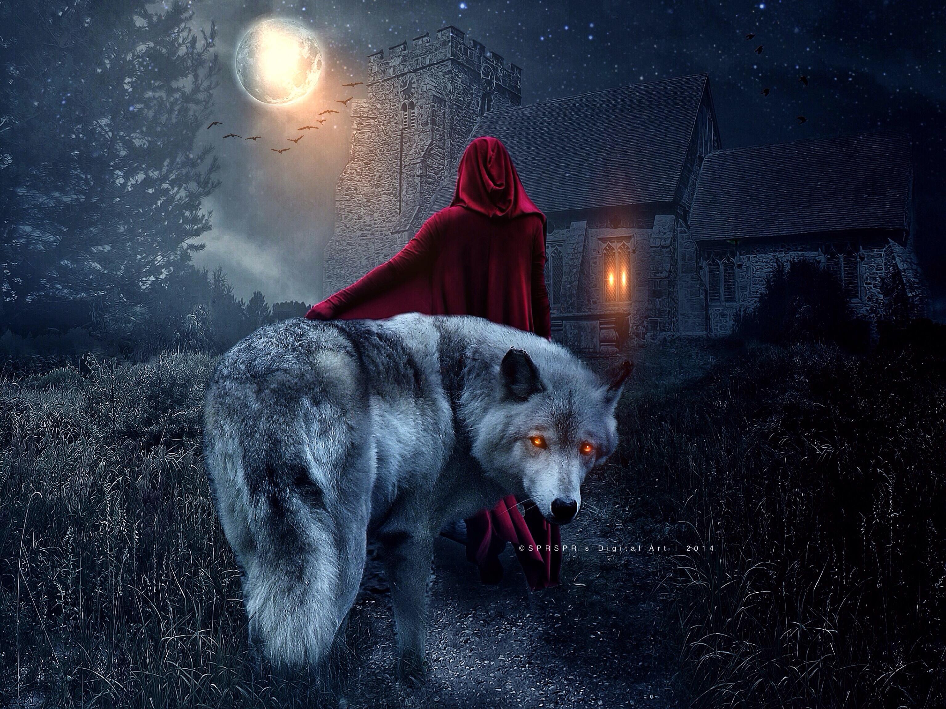 Not a Fairytale I by SPRSPRsDigitalArt