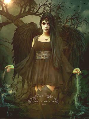 Black magic by SYLVIAsArt