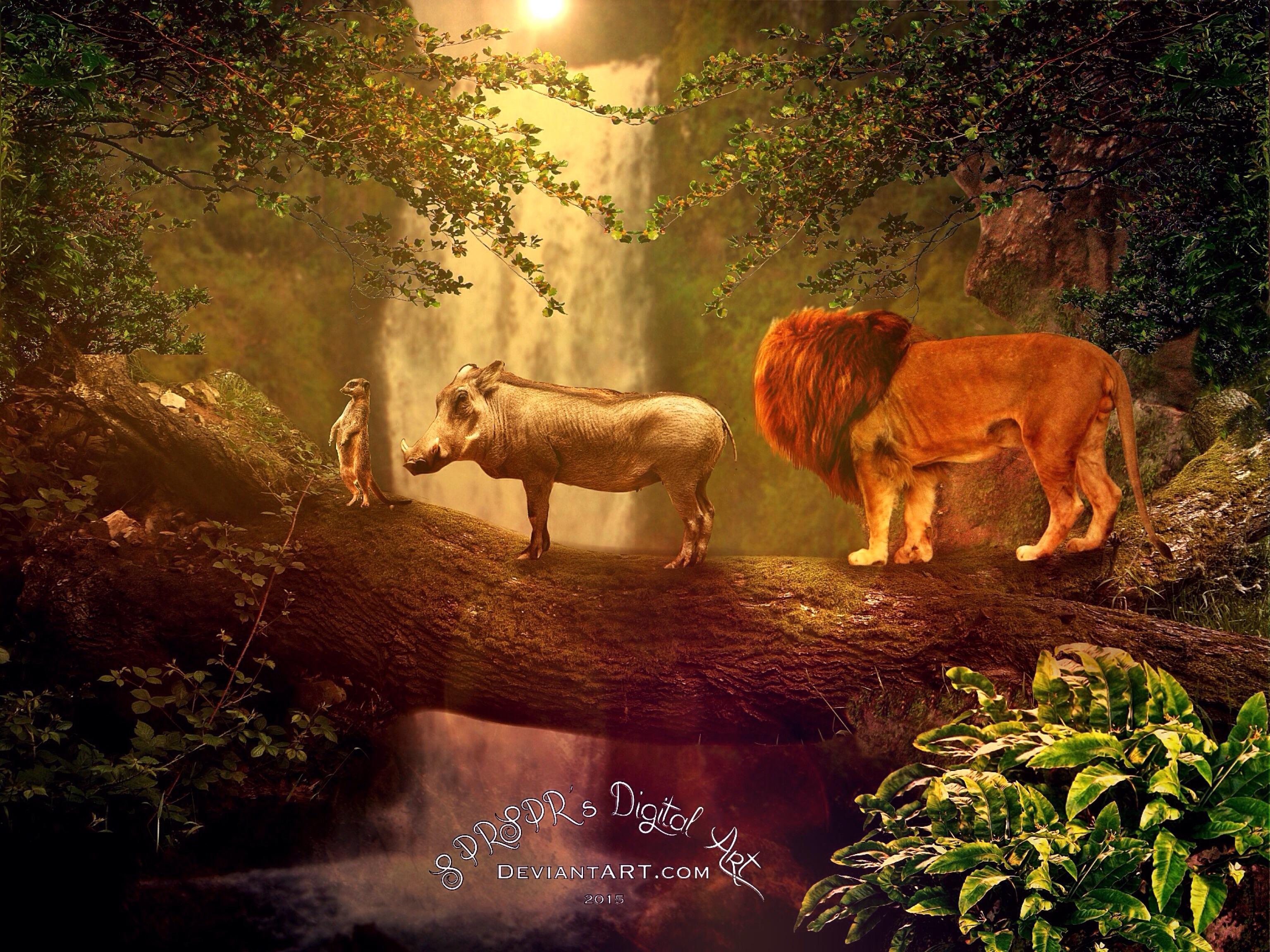 SPRSPRsDigitalArt The Lion King Hakuna Matata By