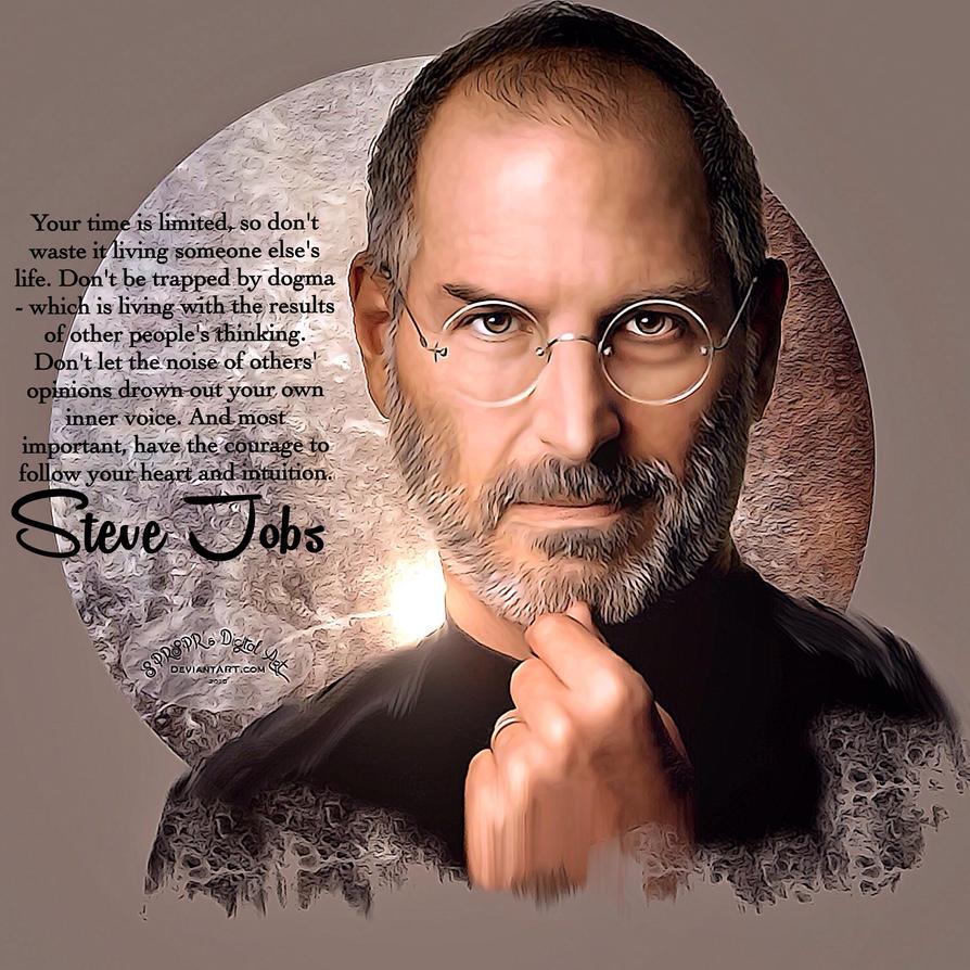 Steve Jobs by SPRSPRsDigitalArt