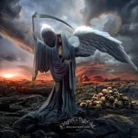 Death is coming by SPRSPRsDigitalArt