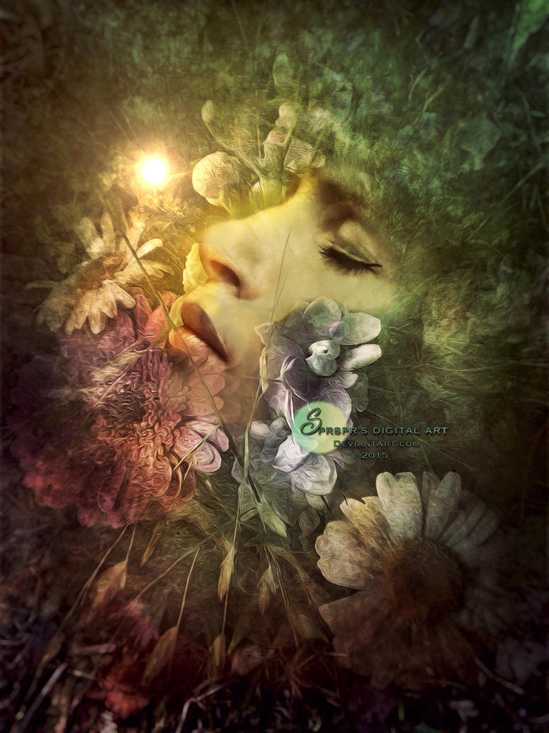 Flowers by SPRSPRsDigitalArt