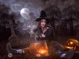Halloween is coming by SPRSPRsDigitalArt