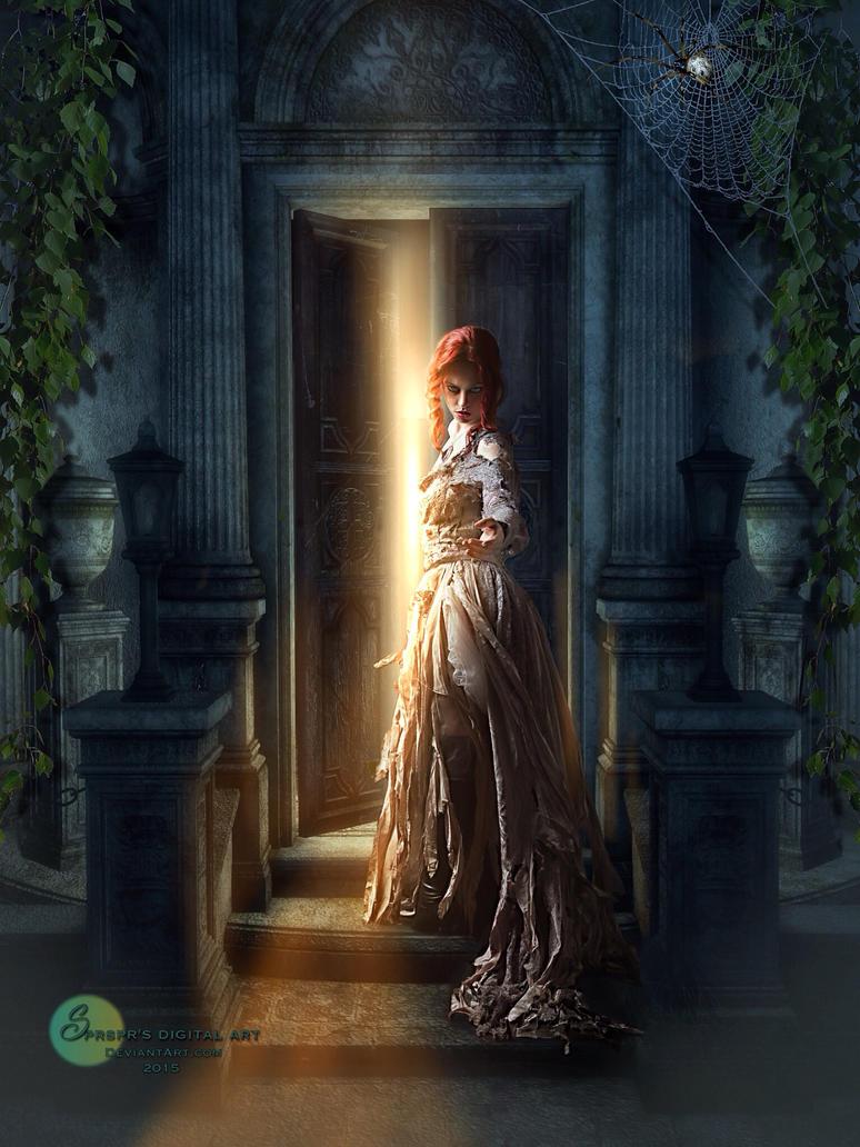 The invitation of a vampire by SPRSPRsDigitalArt