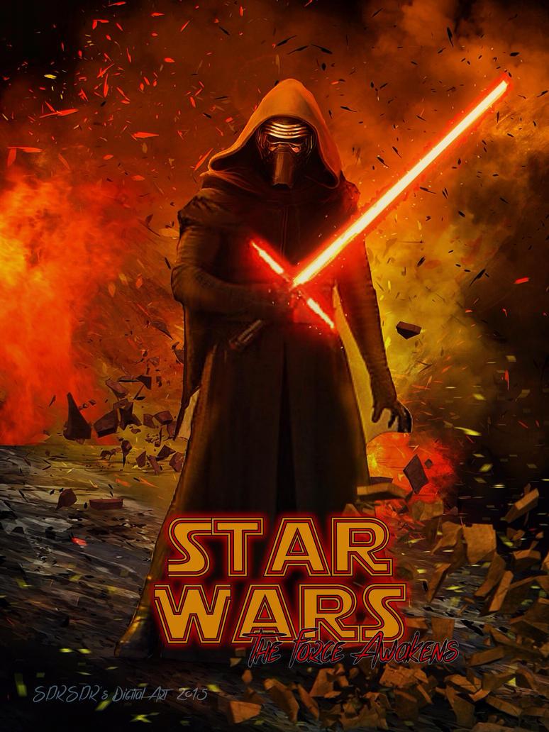 Star wars kylo ren by sprsprsdigitalart on deviantart for Buy digital art online
