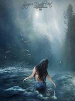 Mermaid by SPRSPRsDigitalArt