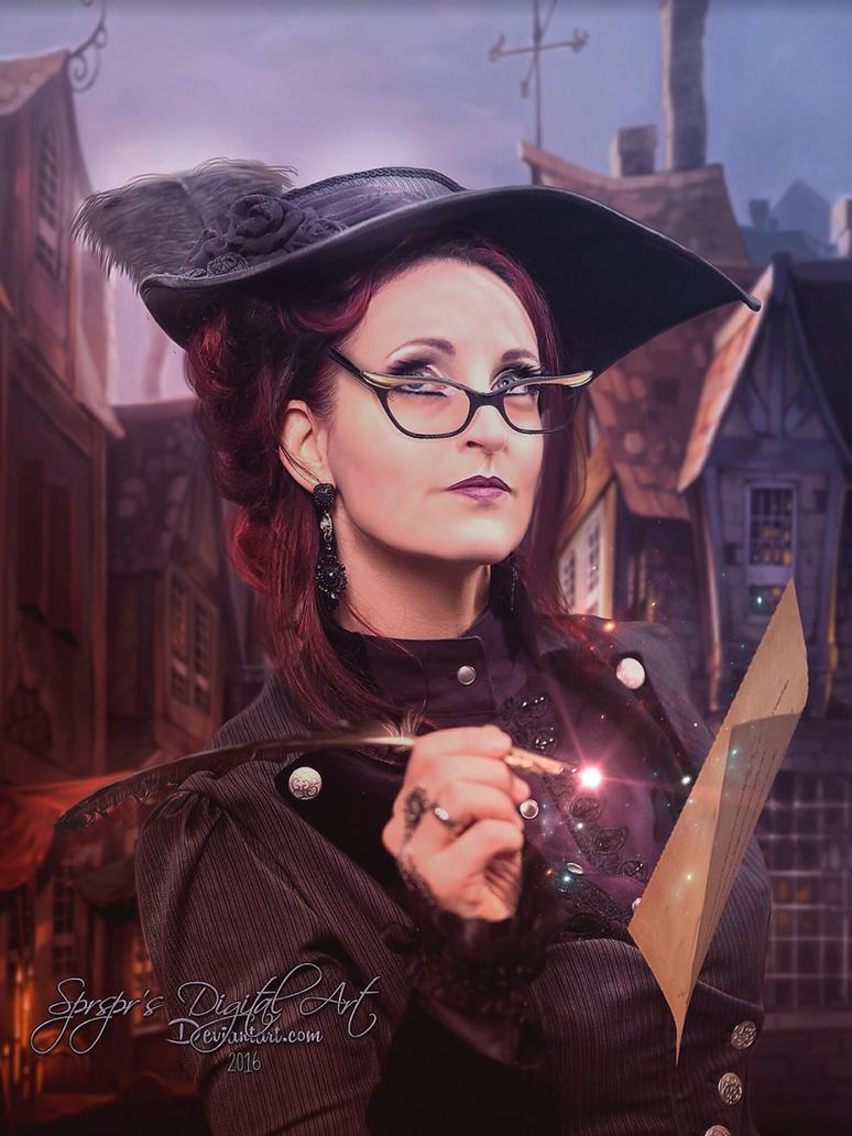 Harry Potter: Rita Skeeter by SPRSPRsDigitalArt