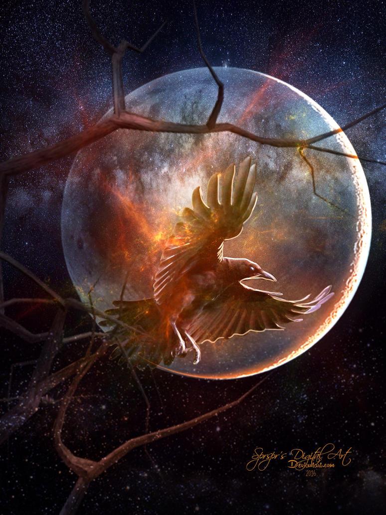 Raven by SPRSPRsDigitalArt