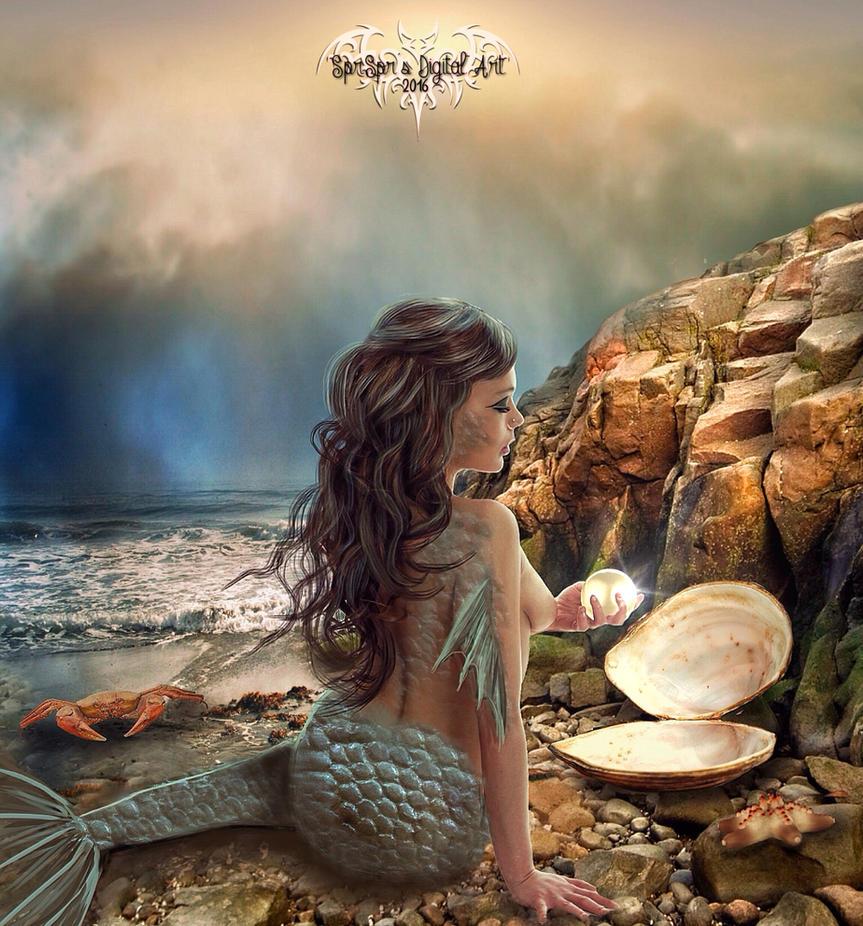Treasure of the sea by SPRSPRsDigitalArt