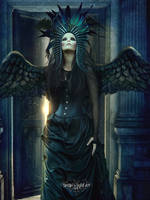 Queen of Darkness by SPRSPRsDigitalArt