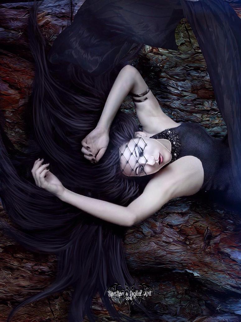 Sleeping Beauty by SPRSPRsDigitalArt
