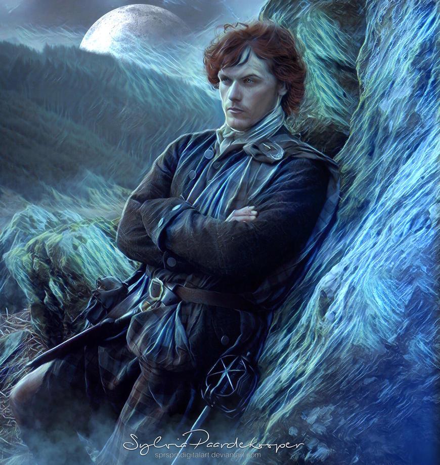 Jamie Fraser by SPRSPRsDigitalArt