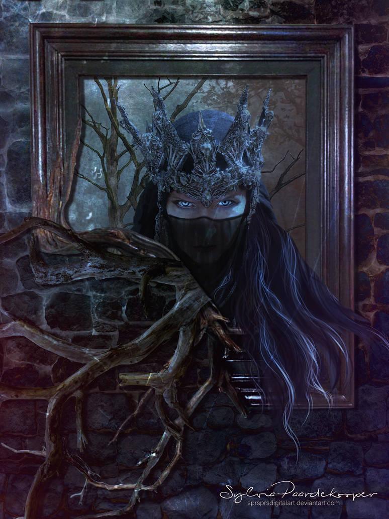 Evil Queen by SPRSPRsDigitalArt