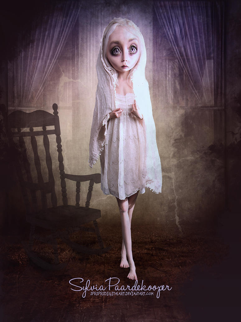 Sad doll by SPRSPRsDigitalArt