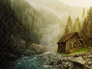 Premium premade background: The Cabin