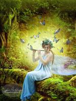 Natures music by SPRSPRsDigitalArt