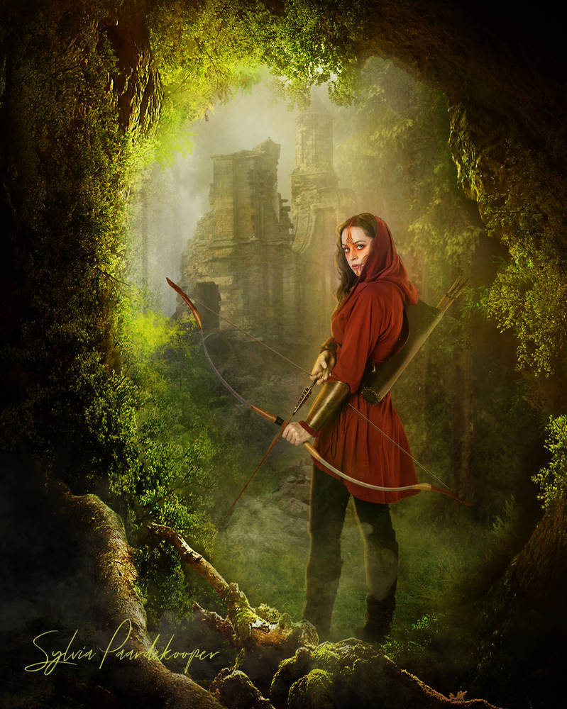 The archer by SYLVIAsArt