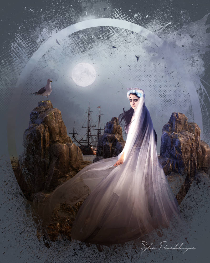 The ghost bride of men who didn't returned