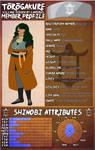[HLV] Nanase Uranami Timeskip Profile by TheArtofAytch