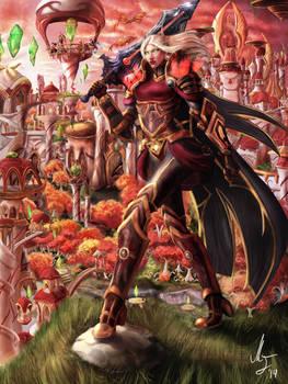 Avamora Defender of Quel'thalas.