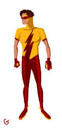 Kid Flash Bart Allen New 52 by bartallen34