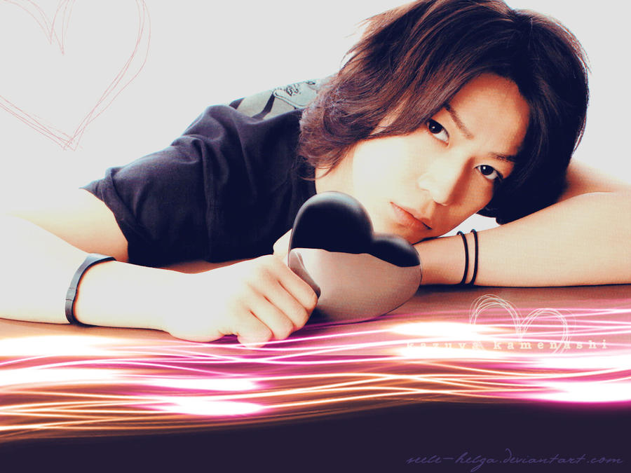 Kamenashi Kazuya_Valentine by Seele-Helga