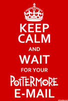 Keep Calm Pottermore 2